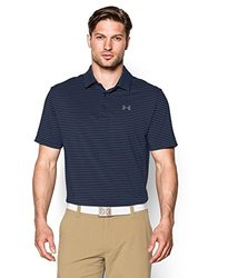 Under Armour Men's Performance Polo Shirt: Playoff-blue-steel/XL