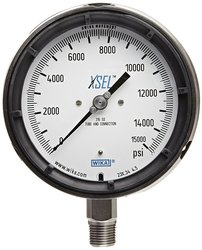WIKA Process Pressure Gauge Stainless Steel 316L Wetted Parts
