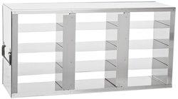 Argos Stainless Steel Upright Freezer Rack for Plastic Cryoboxes