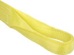Mazzella Polyester Web Sling Eye and Eye - Yellow