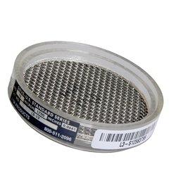 """Advantech Clear Acrylic Sonic Sifter Sieves with Wire Cloth - 3"""" Diameter"""