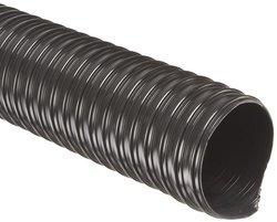 Flexaust Flx Thane HD Polyurethane Duct Hose - Black