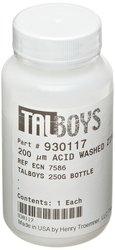 Talboys 200 Micron Acid Washed Grinding Media Zirconium Beads - 250g