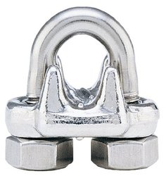 "Crosby forged wire rope clip stainless steel - 1/2"" (12-13MM)"