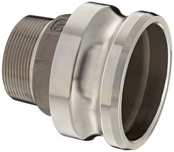 Dixon Valve Stainless Steel 316 Type F Cam & Groove Reducing Hose Fitting