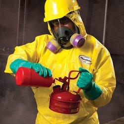 Kimberly Clark KleenGuard Seam Chemical Spray Protection Coverall - Yellow