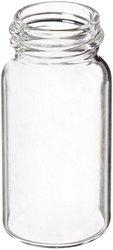 Sun Sri Clear Glass Thread 20ml Storage Vial Pack of 100