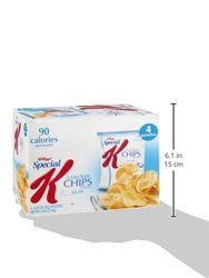 Kellogg's Special K Sea Salt Cracker Chips 4 Pack - 4Oz