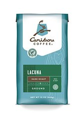 Caribou Coffee Lacuna Dark Roast Ground Coffee 12 Oz
