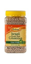 Roland Whole Wheat Israeli Couscous - 6 Pack/10.5 Oz Each