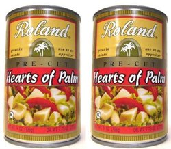 Roland Hearts of Palm Pre Cut Packs - 14 oz