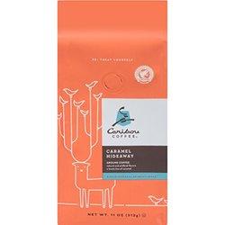 Caribou Coffee Caramel Hideaway Ground Coffee 11 oz
