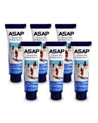 Activz Silver Asap Silver Sol Skin & Body Gel Care - 6 - 4Oz Tubes