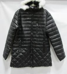 Spire by Galaxy Women's Puffer Detachable Trim Jacket - Black - Size: 3XL