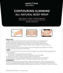 Contouring Slimming All Natural Body Wrap 5 Applications