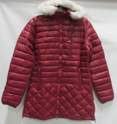 Spire by Galaxy Harvic Men's Puffer Jacket - Burgundy - Size: XL