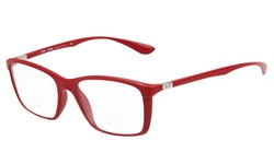 Ray Ban Men's Eyeglasses - 5441 Matte/Red - Size: 52mm/18mm/145mm