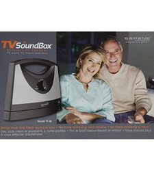 Serene Innovations TV-SB Portable Wireless Tv Soundbox