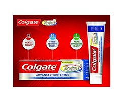 Colgate Total Advanced Whitening Toothpaste (226g) Tube packs 8oz, 4