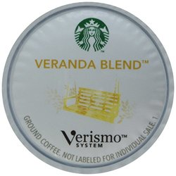Starbucks Verismo Veranda Blend Brewed Coffee - .31 oz - 72 Pods