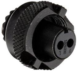 Amphenol Circular Connector Socket - 10SL Shell Size & 2 Contacts