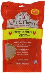 Stella & Chewy's Dried Dog Food for Adult Dogs - Chicken Patties - 15Oz