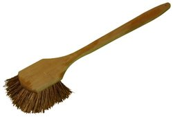 "Zephyr 51008 Palmyra Pot Brush with Wood Block, 8"" Length (Pack of 12)"