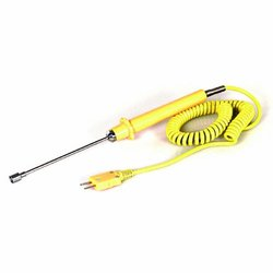 TPI CK11M -25 MHz Polyurethane K-Type Water Proof Contact Surface Probe