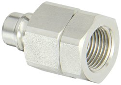 """Snap-Tite 1/2"""" NPSF Female x 1/2"""" Coupling Quick-Disconnect Hose Coupling"""