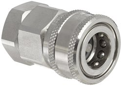 "Snap-Tite 1/2"" NPSF Female x 1/2"" Coupling Quick-Disconnect Hose Coupling"