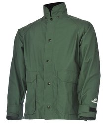 WaterShed StormShield Snap Storm Front Waterproof Jacket -Forest Green/3XL