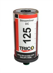 """Trico 100 Grease 60cc Streamliner 1/4"""" NPT Male DC Single Point Lubricator"""