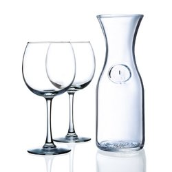 Luminarc Balloon Red Wine Set for Two Clear