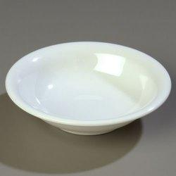 SierrusTM Rimmed Bowl 7-1/2 - White