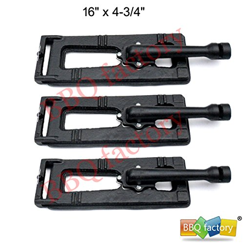 BBQ Factory Replacement Cast-Iron Grill Pipe Burner - 3 Pack - Check Back  Soon
