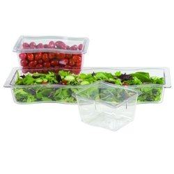 Carlisle 6984607 Modular Displayware Pan, Clear (Each)
