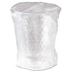 SOLO Individually Wrapped Diamond Tumbler 10 oz Plastic Cups