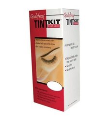 Godefroy Long Lasting Eyebrow Tint Kit - Jet Black