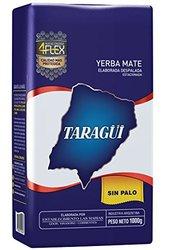 Taragui Yerba Mate 2.2 lbs. Loose Leaf Sin Palo - 5-Pack