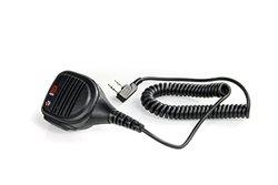 BaoFeng QHM22 Platinum Series IP54 Rainproof Shoulder Speaker Mic for BaoFeng, AnyTone, Kenwood Radios