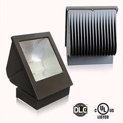 WestDeer LED Wall Pack Light 60W Equivalent 240W Waterproof Outdoor Lighting 5400 Lumens Cool White 5000K UL Listed and DLC-Qualified