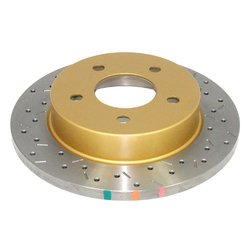 DBA DBA4856XS 4000 Series XS Premium Cross-Drilled and Slotted Front Vented Disc Brake Rotor
