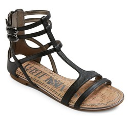 Sam & Libby Women's Hadlee Gladiator Sandals - Black - Size: 6