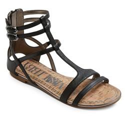Sam & Libby Women's Hadlee Gladiator Sandals - Black - Size: 5.5