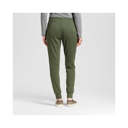 Mossimo Women's Hatchi Jogger Pants - Olive/Black - Size: Small