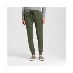 Mossimo Women's Hatchi Jogger Pants - Olive/Black - Size: X-Large