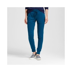 Mossimo Women's Hatchi Jogger Pants - Blue/Black - Size: Small