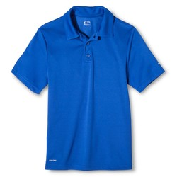 C9 Champion Boys' Golf Polo T-Shirt - Blue - Size: Medium