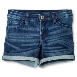 Cherokee Girls' Low Rise Jeans Shorts - Dark Blue - Size: XS