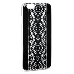 Crazy4Tank Women's Geometric Print Cell Phone Case for iphone 6 - Black